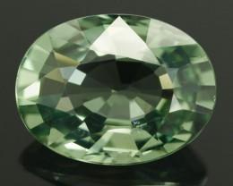 AIGS Green Sapphire 1.17 ct Sri Lanka