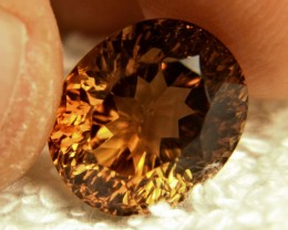 10.79 Carat SI Brazilian Golden Topaz - Superb