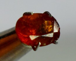 2.10 ct Beautiful, Natural Orange Bastnasite Gemstones