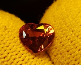 NO HEAT CERTIFIED 1.22 CTS HEART MIX COLOR CHANGE SAPPHIRE FROM SRI LANKA