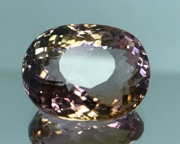 11.99 CT NATURAL BI COLOR TOURMALINE HIGH QUALITY GEMSTONE T2