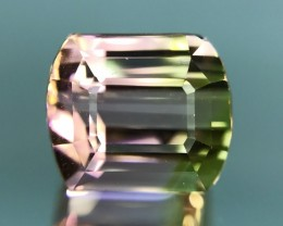 6.76 CT NATURAL BI-COLOR TOURMALINE HIGH QUALITY GEMSTONE T6