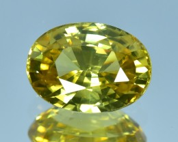 4.37 Cts Beautiful Natural Sri Lankan Yellow Zircon