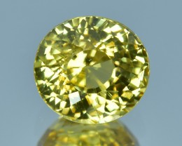 3.40 Cts Beautiful Natural Sri Lankan Yellow Zircon