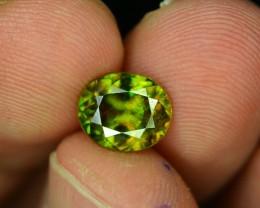 AAA Color 1.90 ct Chrome Sphene from Himalayan Range Skardu Pakistan SKU.14