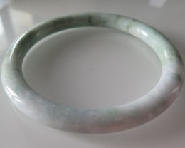 HIGH QUALITY NATURAL UNHEAT JADE BANGLE 155cts