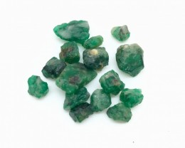 27.0 Crt Natural Swat Emerald Rough Good For Cutting  (958)