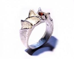 Silver Ring   925   Cts . 32.5   CV6
