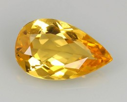 2.75 CT DAZZLING TOP NATURAL UNHEATED-YELLOW BERYL ROUND PERFECT