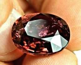 CERTIFIED - 16.62 Carat Elegant Fancy Purple Tourmaline - Superb