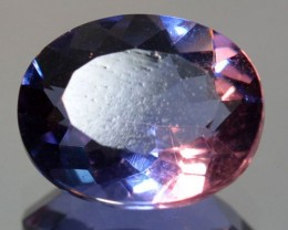 3.68 Cts Natural Color Change Fluorite Oval Cut Brazil Gem