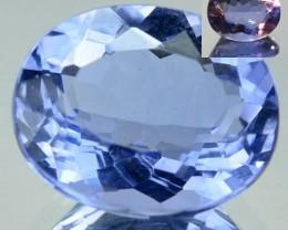 4.21 Cts Natural Color Change Fluorite Oval Cut Brazil Gem