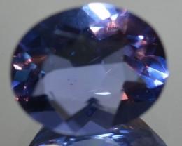 4.03 Cts Natural Color Change Fluorite Oval Cut Brazil Gem