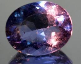 4.19 Cts Natural Color Change Fluorite Oval Cut Brazil Gem