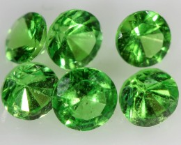 1.009 CTS   3.6MM TSAVORITE BRIGHT PARCEL.[STS1061]safe