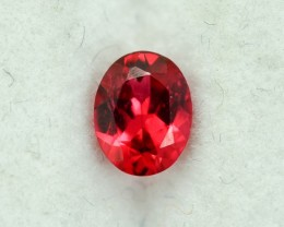 0.40 Cts Fabulous Certified Burmese Red Spinel