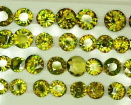 Amazing Color 249 ct  175 Pcs Lot Chrome Sphene from Himalayan Range Skardu