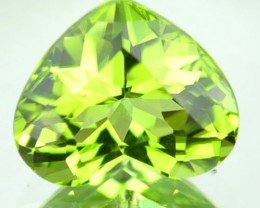 Little Heart 1.80 ts Natural Green Peridot Pakistan Gem
