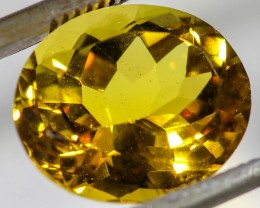 4.50 CTS FIERY  CITRINE -CUT FROM OUR ROUGH  [STS1129]