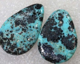 14.7CTS NEVADA BLUE TURQUOISE TBG-2902