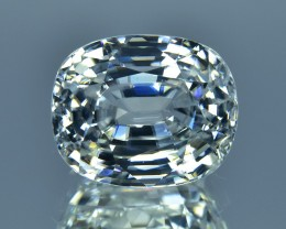 10.70 Cts Attractive Sparkling Lustrous Natural White Zircon