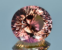 15.16 Cts Beautiful Attractive Special Cut Natural Tourmaline