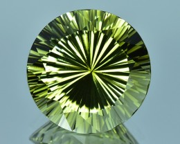 16.18 Cts Wonderful Special Cut Natural Olive Green Tourmaline