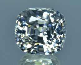 9.66 Cts Beautiful Sparkling Lustrous Natural White Zircon