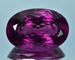 26.89 Cts Unusual Superb Special Cut Natural Purple Tourmaline
