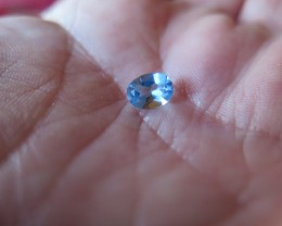 "VERY NICE ""SWISS BLUE"" NATURAL TOPAZ 6x8mm"