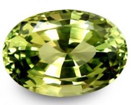 7.15 ct Natural Intense Beautiful Fine Quality Chrysoberyl Oval Srilanka