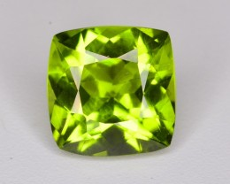 2.50 ct BRILLIANT OLIVE GREEN PERIDOT