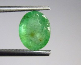Certified 1.95cts  Afghan Emerald , 100% Natural Gemstone
