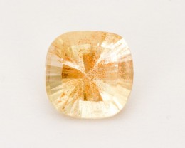 2.1ct Champagne Concave Square Sunstone (S2528)
