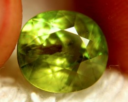 CERTIFIED SPHENE~ VVS2 ~ 5.24cts ~ BEAUTIFUL GEM