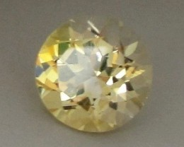 CERTIFIED YELLOW DANBURITE ~ 8.95cts ~ VVS ~ EXCELLENT GEM to HAVE