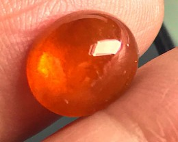 5.07CT GLOWING DARK FANTA ORANGE SPESSARTITE GARNET NO RESERVE