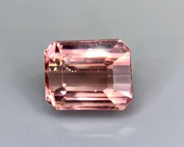 1.80 CT Natural Pink Tourmaline  Beautiful Faceted Gemstone S25
