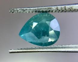 1.44 Crt GIL Certified Natural Paraiba Tourmaline Faceted Gemstone (R 149)