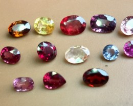 12.0 Crt Natural Multi-Stone Faceted Gemstone (R 149)