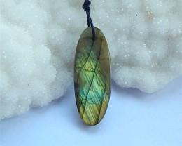 16.5ct Natural Labradorite DrilledFaceted  Beads (18031122)