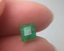 (B4) Spectacular 1.03ct Natural  Colombian Emerald Untreated!