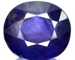 6.60 Cts Natural Blue Sapphire Oval Cut Thailand Gem