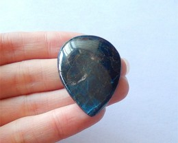 62.5ct Blue Apatite Gemstone Cabochon(18031213)