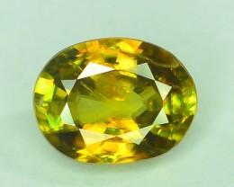 Top Fire 1.30 ct Natural Titanite Sphene M.1