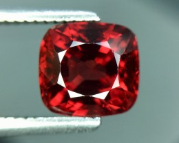 1.87 Cts Untreated Red Spinel Excellent Color & Cut ~ Burma 5