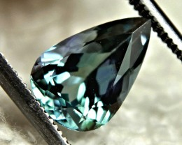 1.94 Carat African Blue Green VVS Tanzanite - Gorgeous