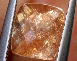 2CTS SUNSTONE  FACETED CG-2381