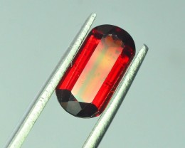 1.75 ct Natural Laser Cut Red Rhodolite Garnet
