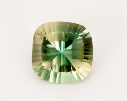 1.85ct Green Clear Concave Square Cushion Sunstone (S2535)